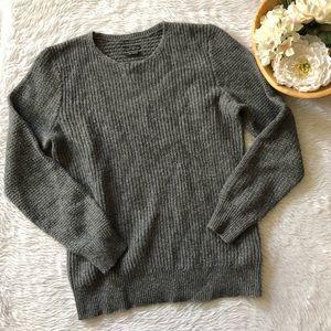 All Saints Grey Knit Sweater